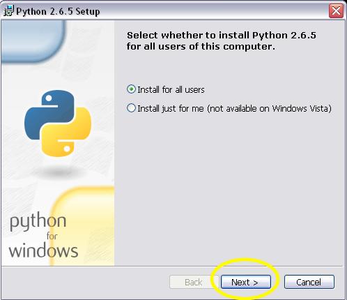 download python 2.6 for windows 7 32 bit